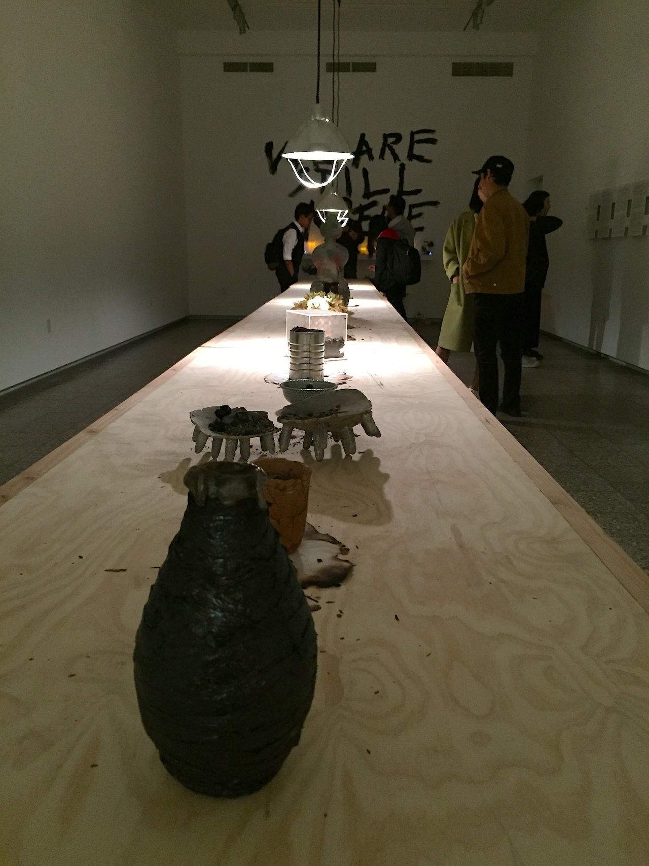 """""""We Are Still Here"""" at the USC Fine Arts Lindhurst Gallery, Nov. 12, 2015"""