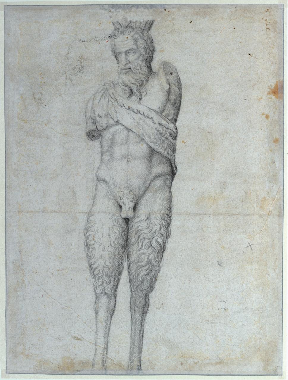 Maarten van Heemskerck, Le satyr della Valle, entre 1532 et 1536, dessin. © Paris, Bibliothèque nationale de France.