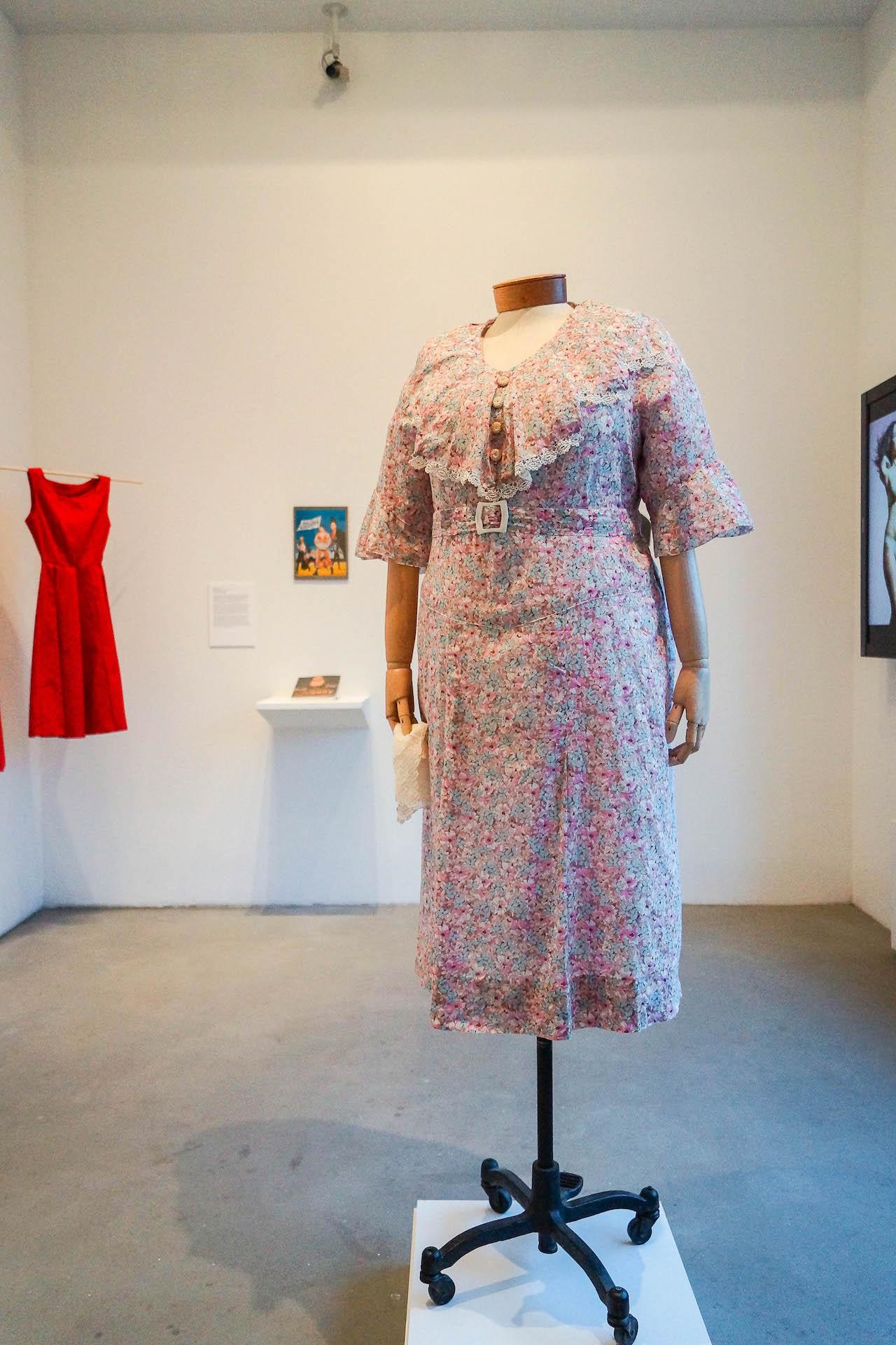1930s Marie Dressler Dress