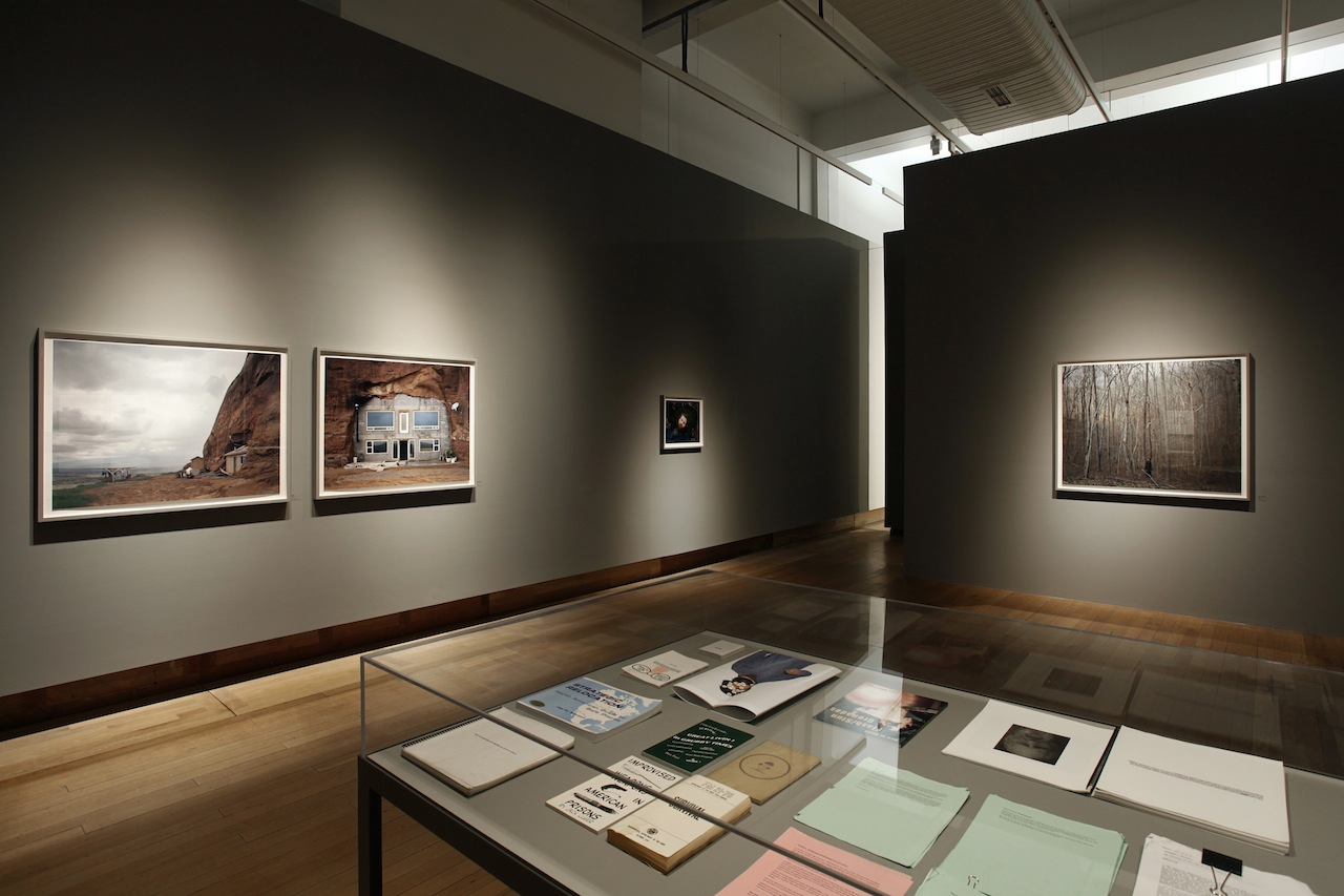 Installation view, 'Gathered Leaves: Photographs by Alec Soth' (© Kate Elliott, courtesy Science Museum) (click to enlarge)