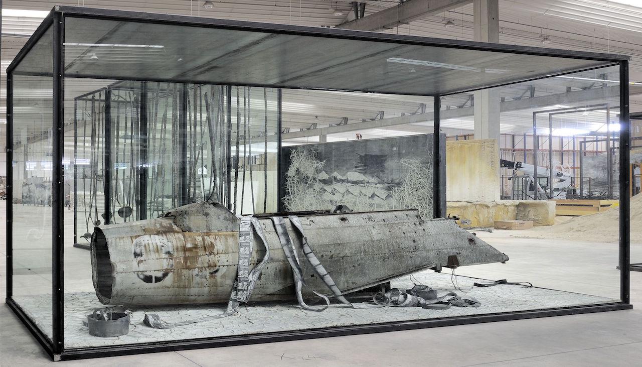 "Anselm Kiefer, ""Merkaba"" (2010) (© Anselm Kiefer, photo by Charles Duprat, courtesy Gagosian Gallery)"