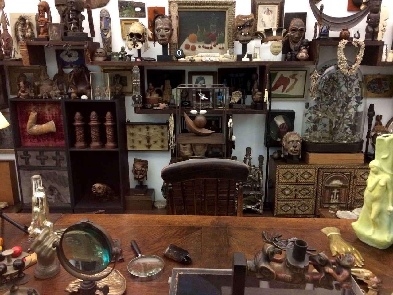 A Cabinet of Curiosities in 2015. Photo by John Donges/Flickr