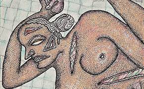 Post image for Indian Artists Portray Bodies Pure and Profane