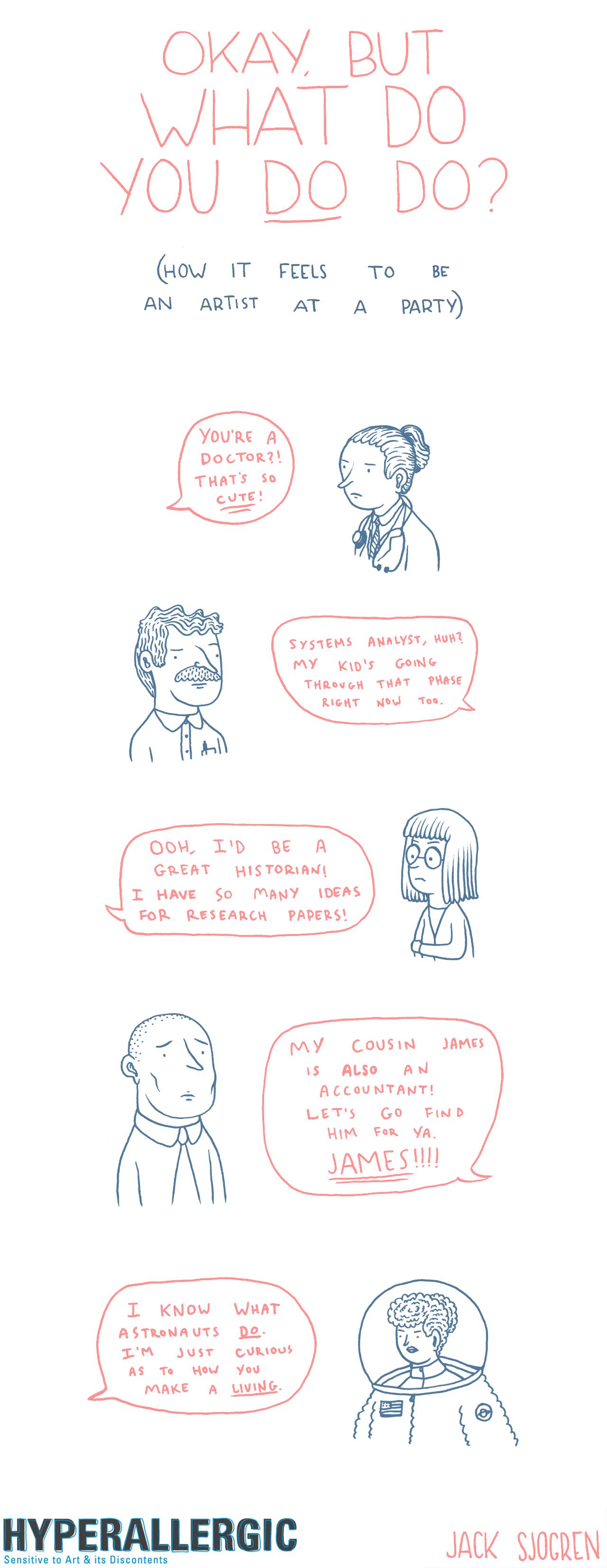Comic-What do you do