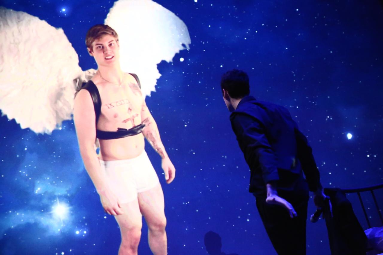 Felix Bernstein,'Bieber Bathos Elegy,' performed on January 15, 2016 at the Whitney Museum of American Art