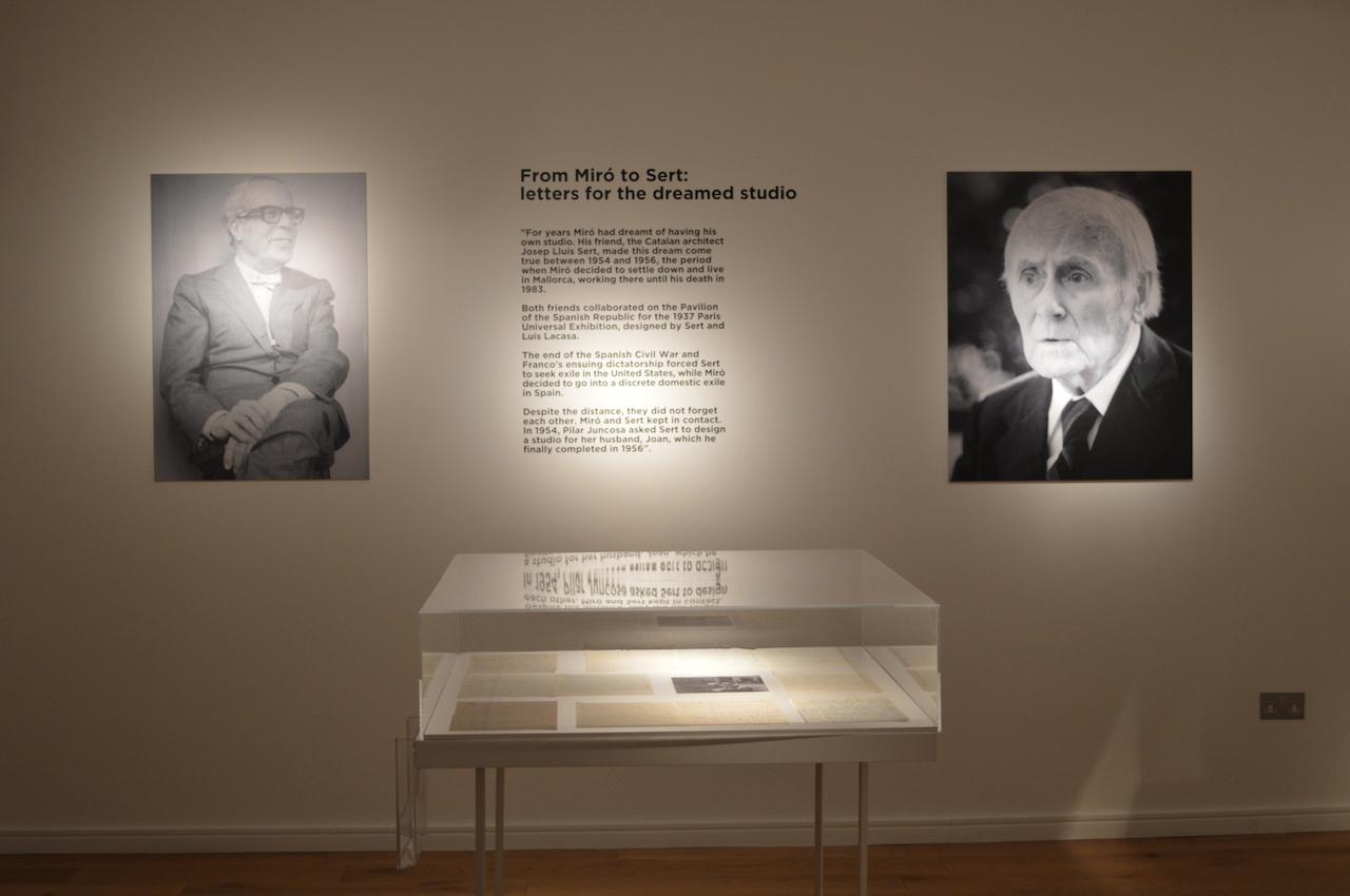 Miro's studio, London. Image courtesy Mayoral (6)