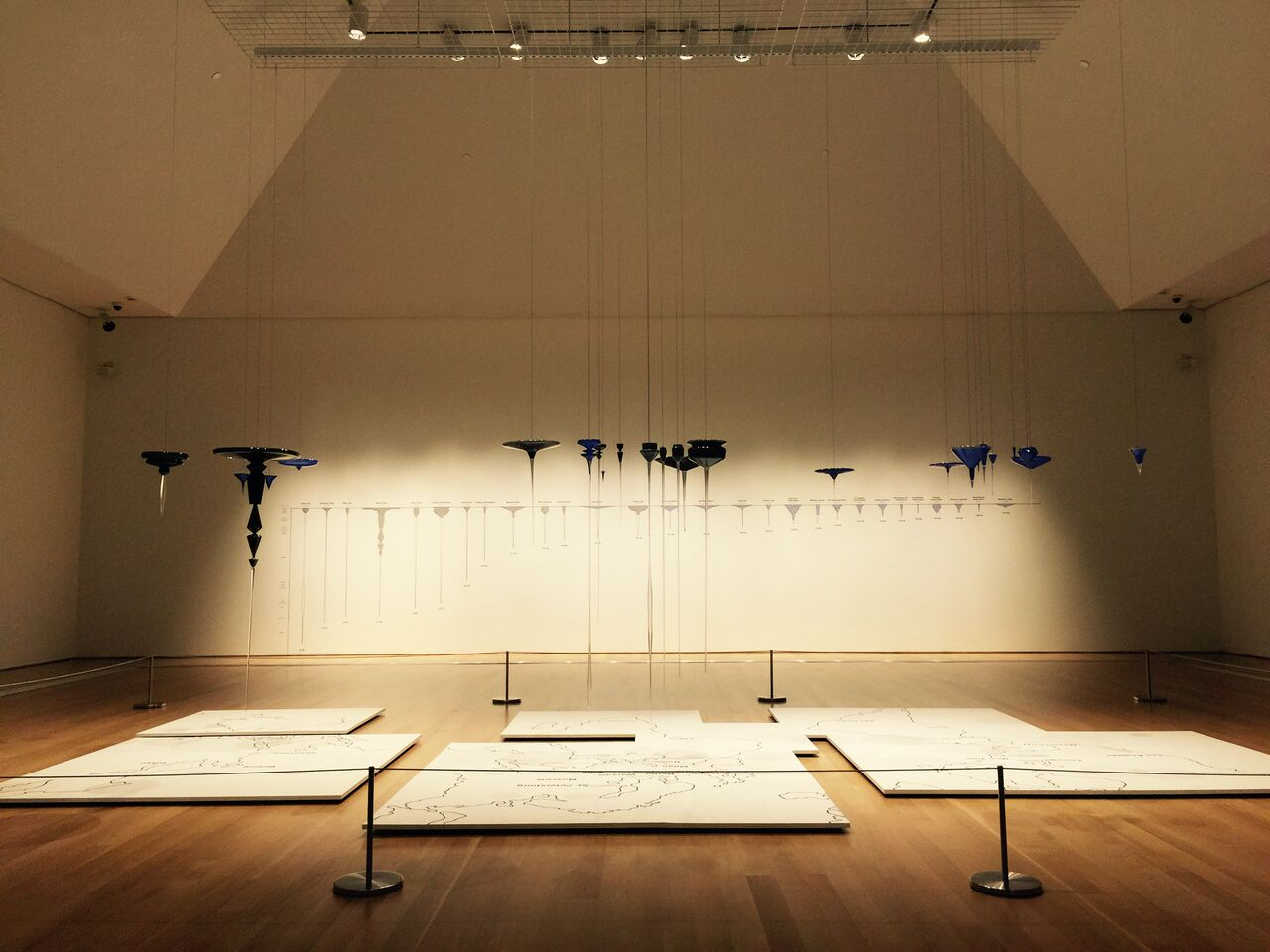 Installation view of 'Norwood Viviano: Global Cities' at the Grand Rapids Art Museum (all photos by the author for Hyperallergic)