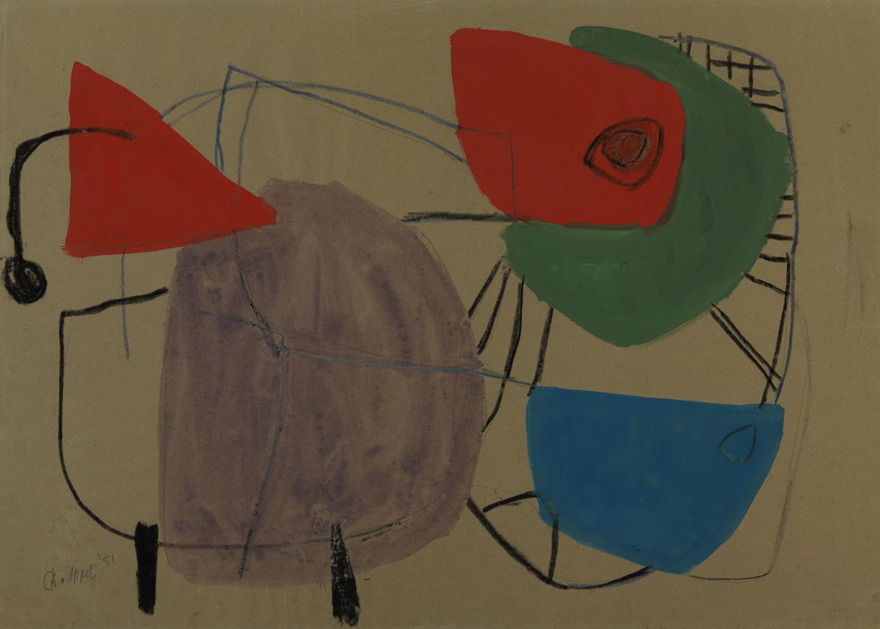 """Karel Appel, """"Animal n° 6"""" (1951)"""