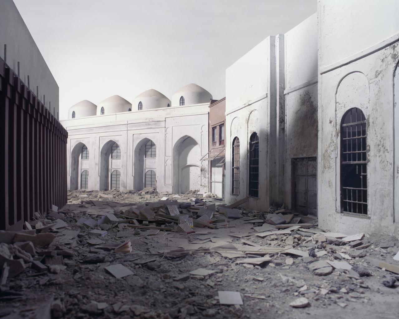 Wafaa Bilal_168-01_The Ashes Series_Al-Mutanabbi Street_Wafaa Bilal