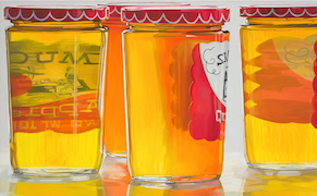 Post image for Janet Fish's Jarring Experiments in Still Life Painting