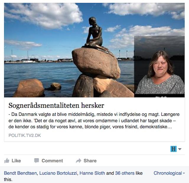 Mette Gjerskov's Facebook post (screenshot via Mette Gjerskov/Facebook)