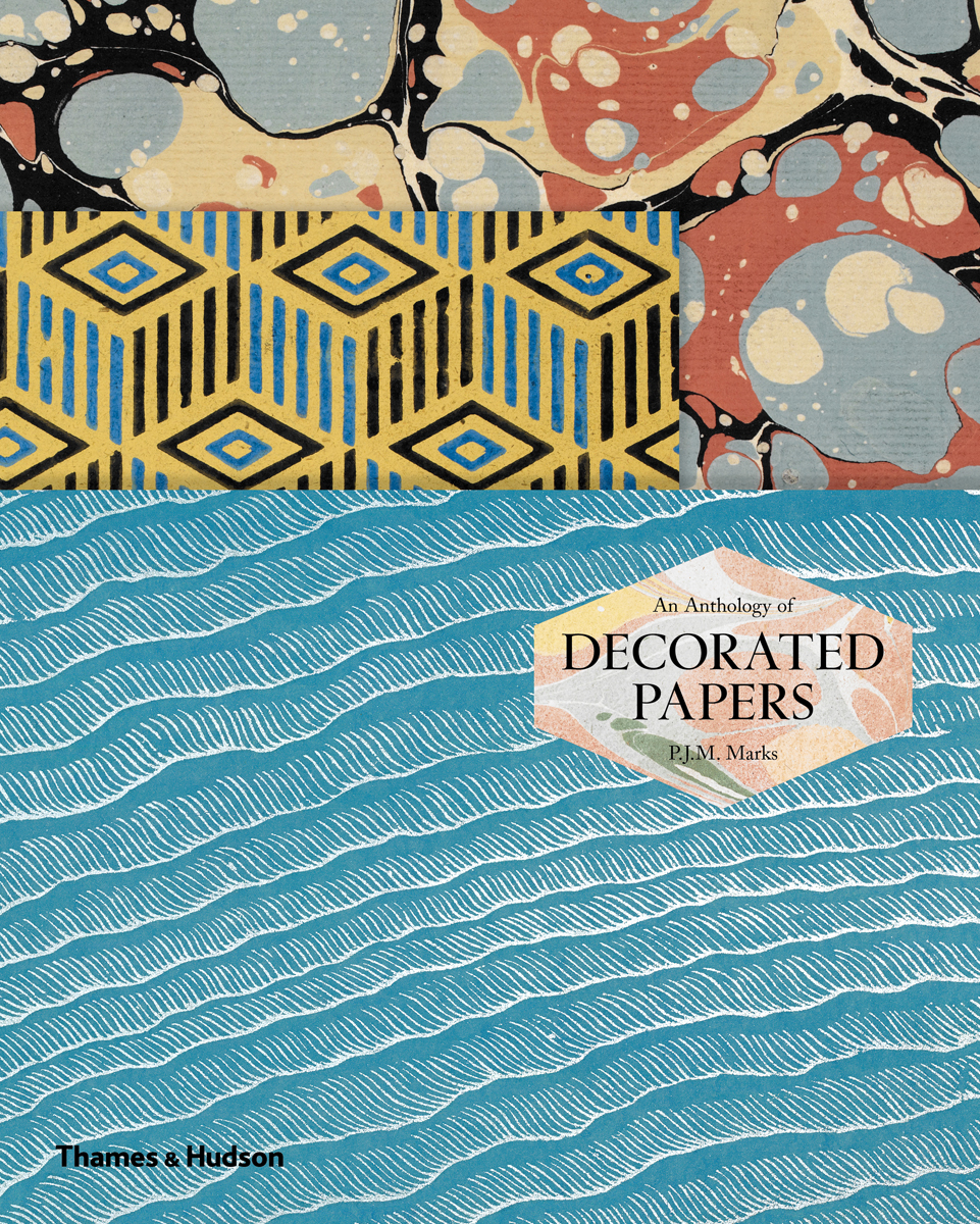 Cover of 'An Anthology of Decorated Papers' (click to enlarge)