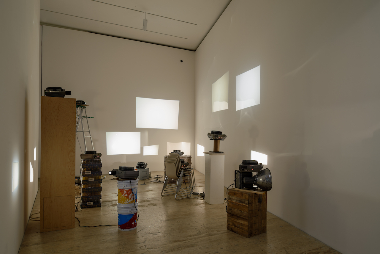 """Installation view of Luis Camnitzer, """"Art History Lesson no. 6"""" (2000) (courtesy Solomon R. Guggenheim Museum, New York, and Museo Jumex, Mexico City)"""