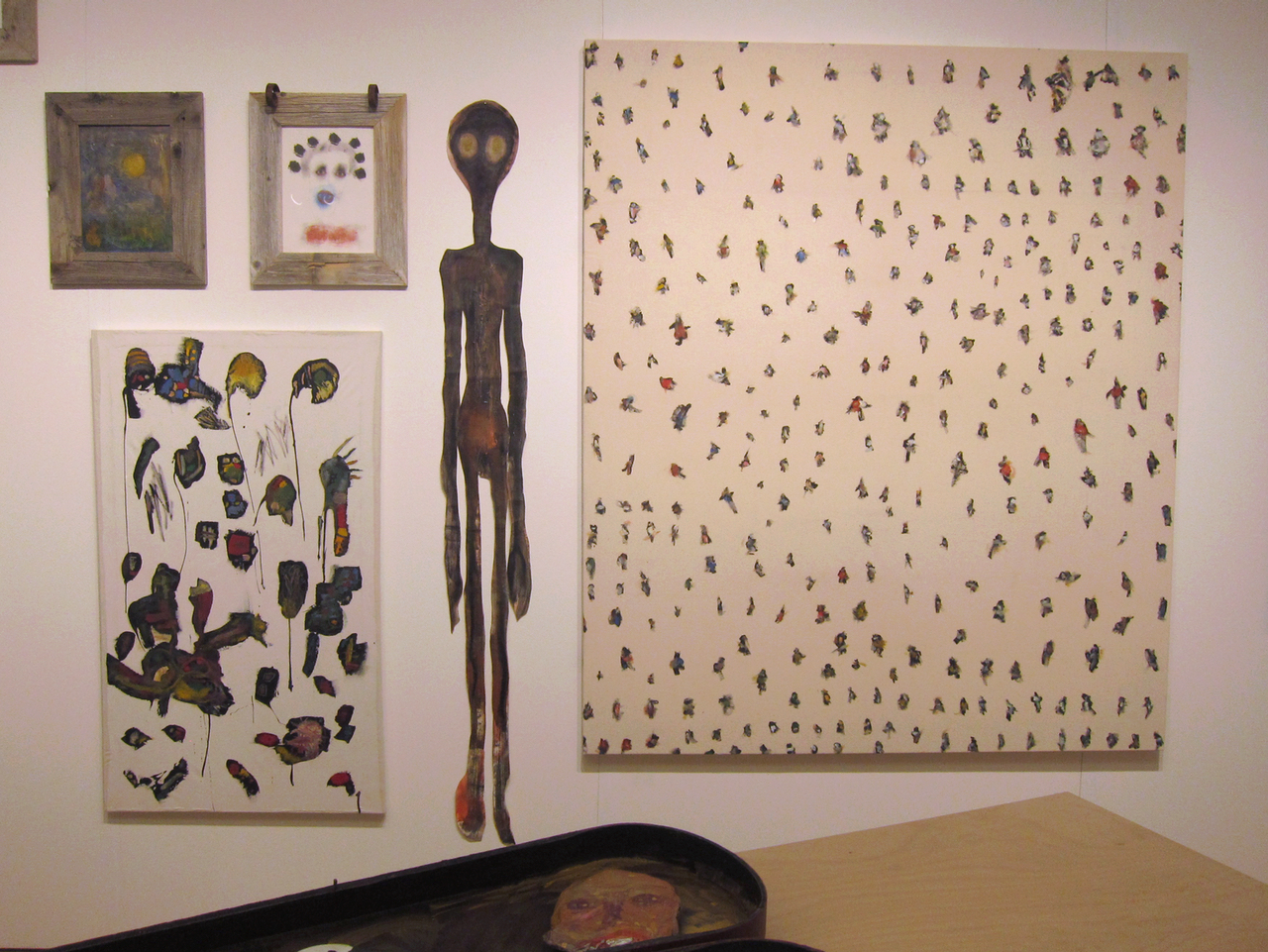 Works by Uman at Galerie Anne de Villepoix