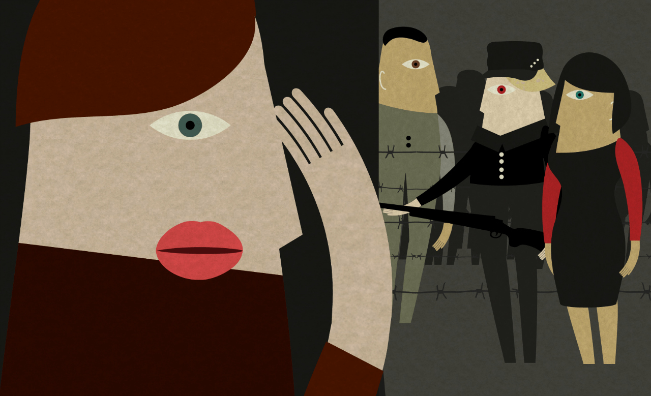 Scene from 'Venti Mesi,' a game about the Italian Resistance during World War II (courtesy We Are Müesli)