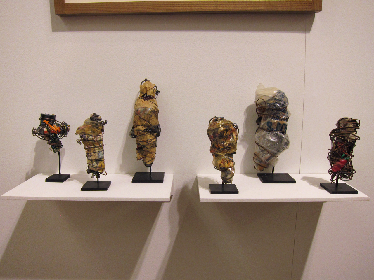 Sculptures by Philadelphia Wireman at Fleisher Ollman