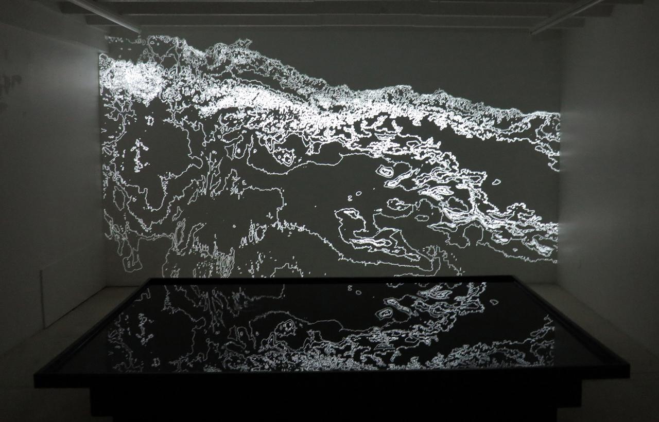 "Cécile Beau and Nicolas Montgermont, ""Sillage"" (2012–15) (courtesy galerie 22,48 m2)"