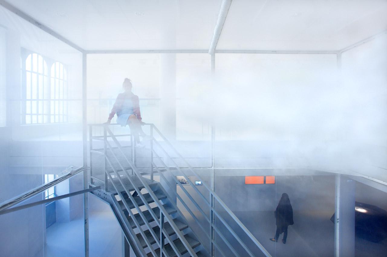 """Tetsuo Kondo and Transsolar, """"Cloudscapes"""" (2012) (photo courtesy Tetsuo Kondo)"""