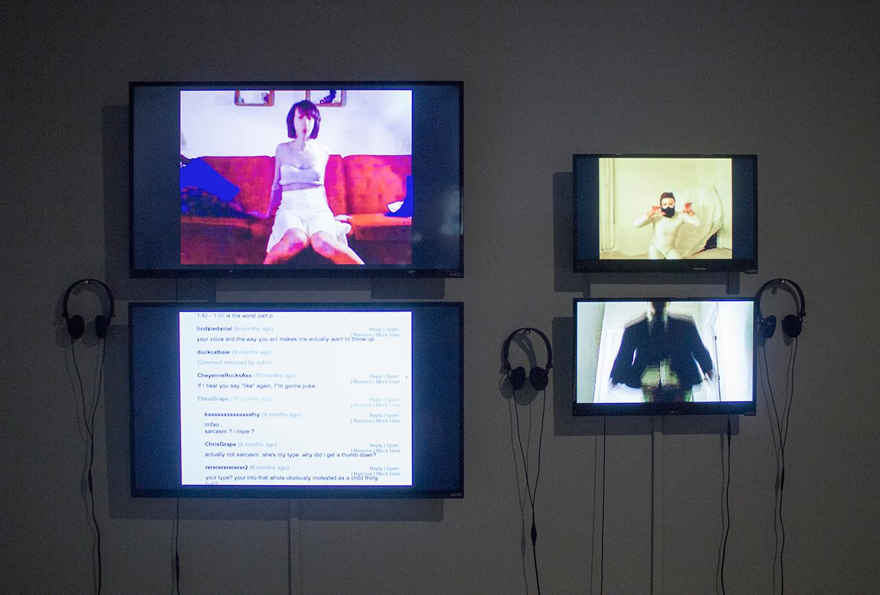 Installation view, 'List Projects: Ann Hirsch' at MIT List Visual Arts Center (photo courtesy MIT List Visual Arts Center) (click to enlarge)
