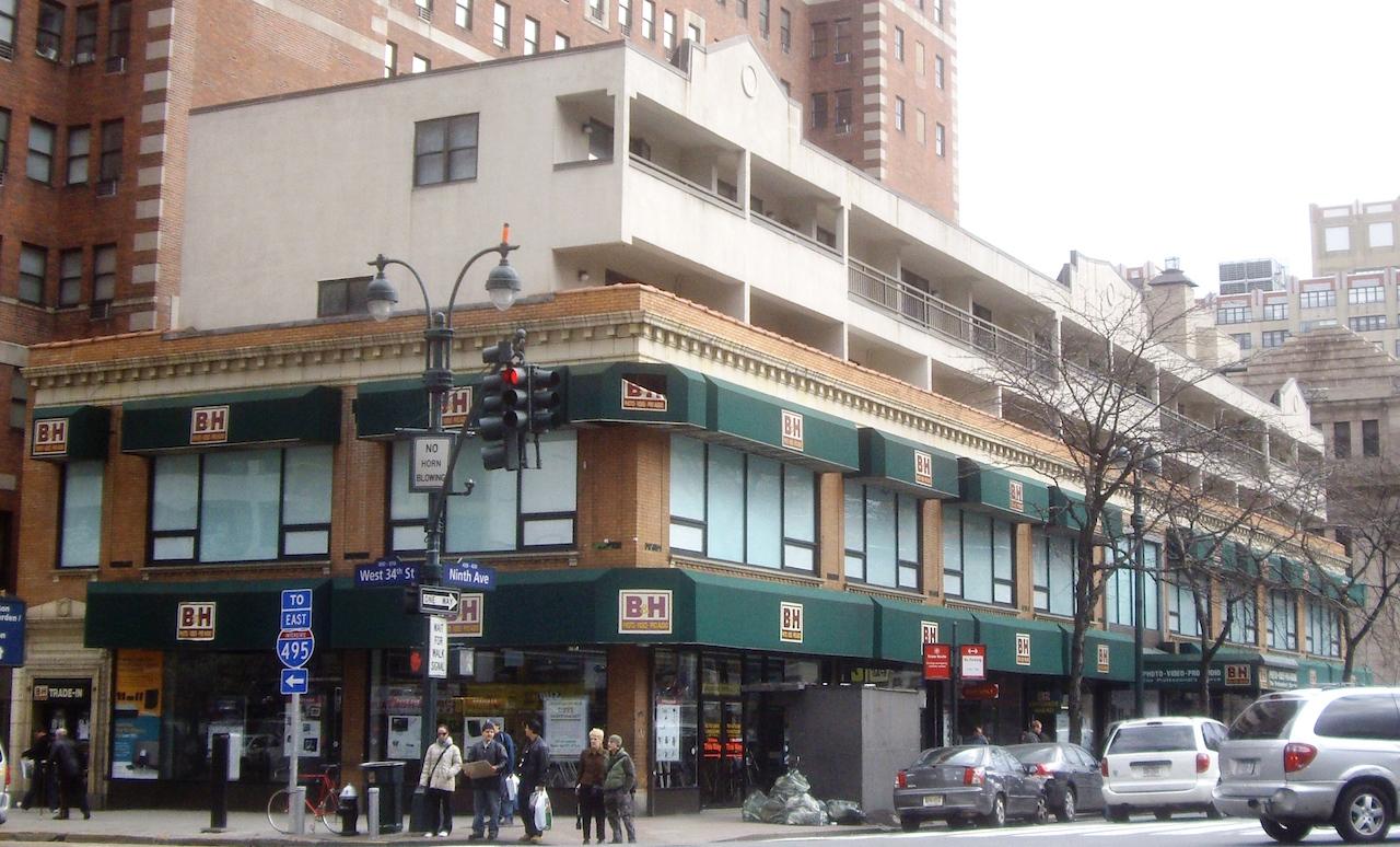 B&H Photo's flagship store in Manhattan (image via WIkipedia)