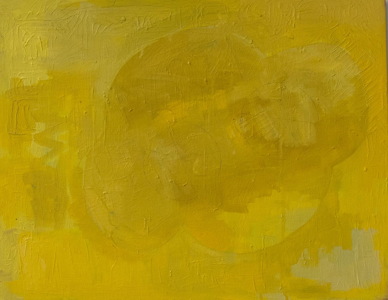 """Sharon Butler, """"Marti Pello"""" (2015), oil on canvas, 16 x 20 inches"""
