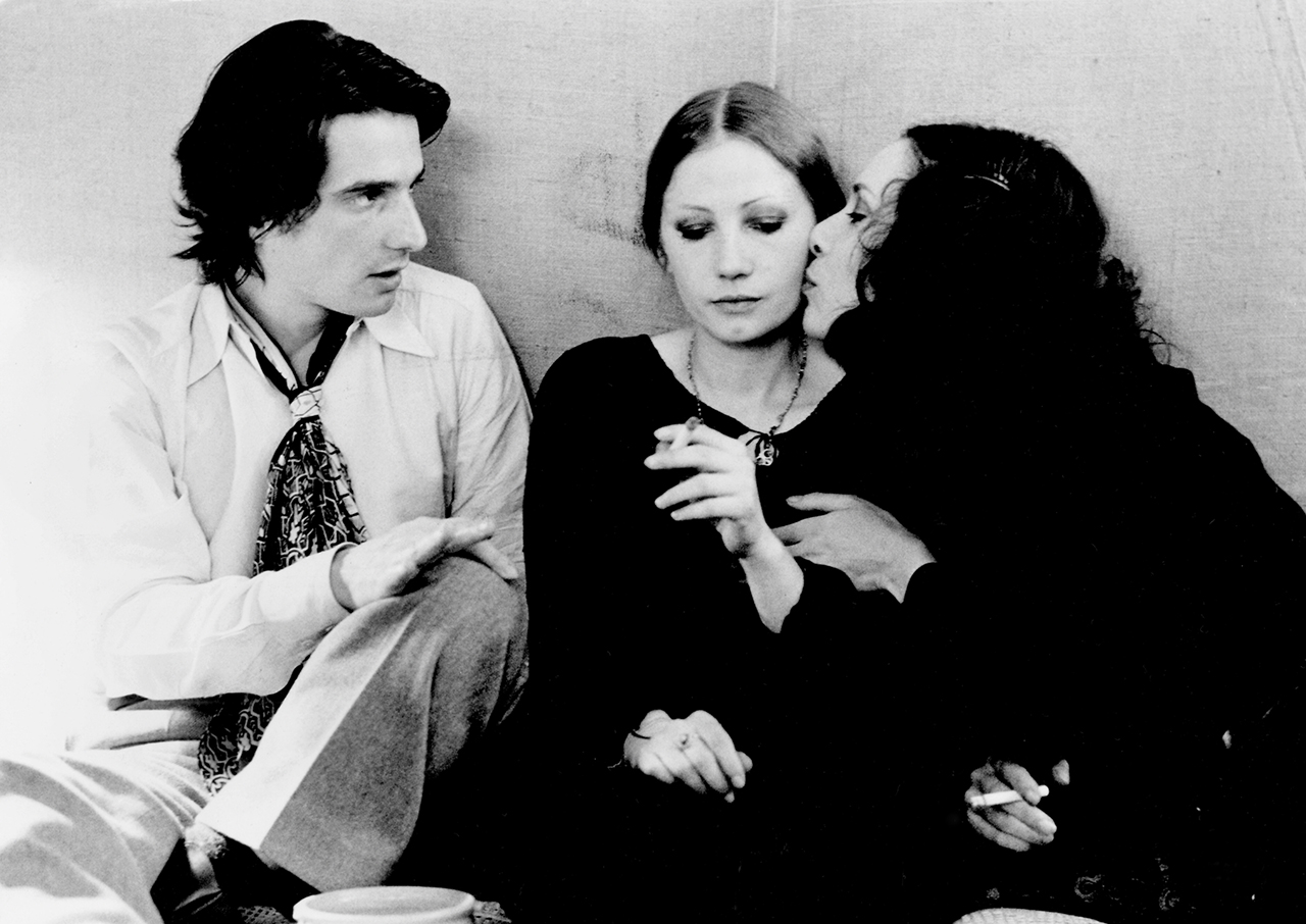 Jean-Pierre Léaud, Françoise Lebrun, and Bernadette Lafont in Jean Eustache, 'La Maman et la putting' (The Mother and the Whore, 1973) (image courtesy New Yorker/Photofest, © New Yorker Films) (click to enlarge)