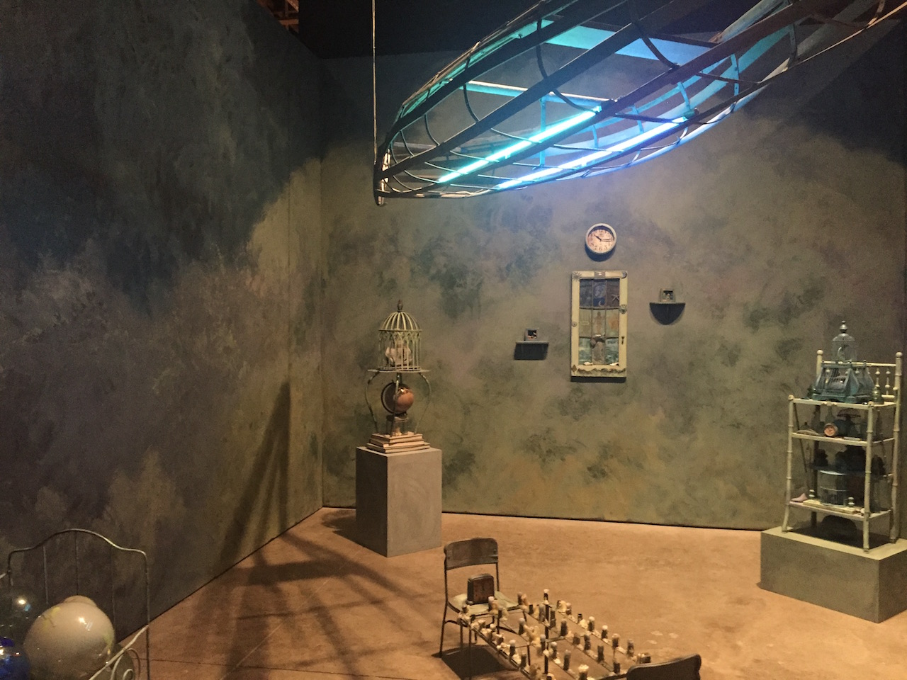 """Installation view, Betye Saar, """"The Alpha and The Omega"""" (2016), dimensions vary (click to enlarge)"""