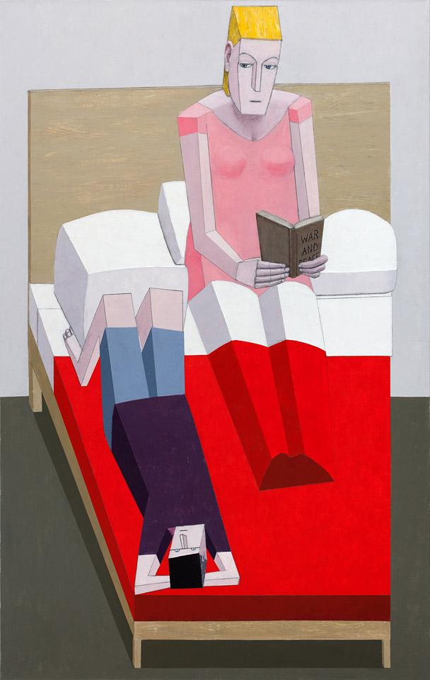 LARSEN_Reading in Bed
