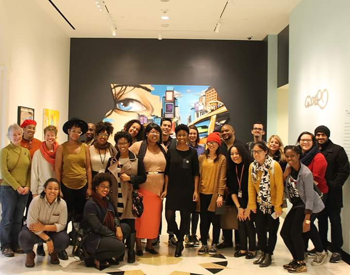 Museum Hue with participants at the Power MCNY event in 2015