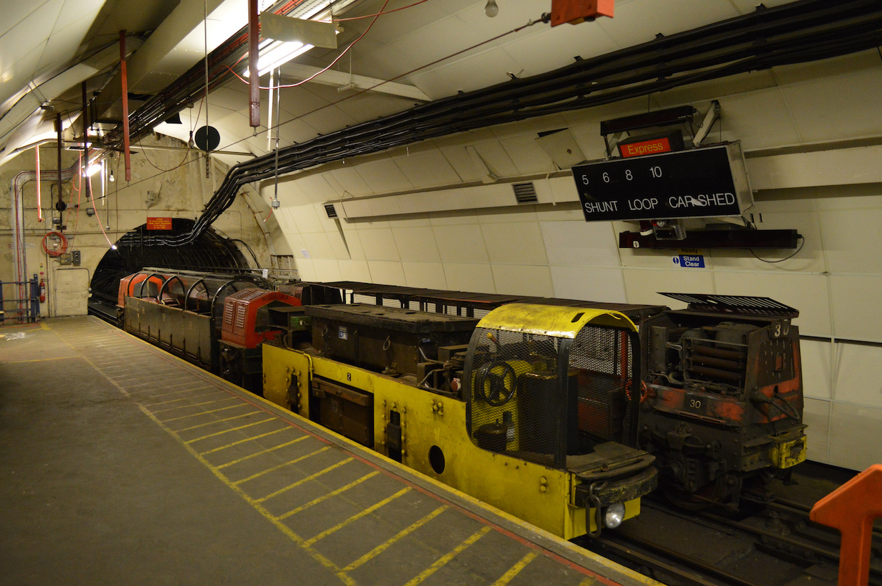 The so-called Rail Mail under London will open to the public next year. (photo by Matt Brown/Flickr)