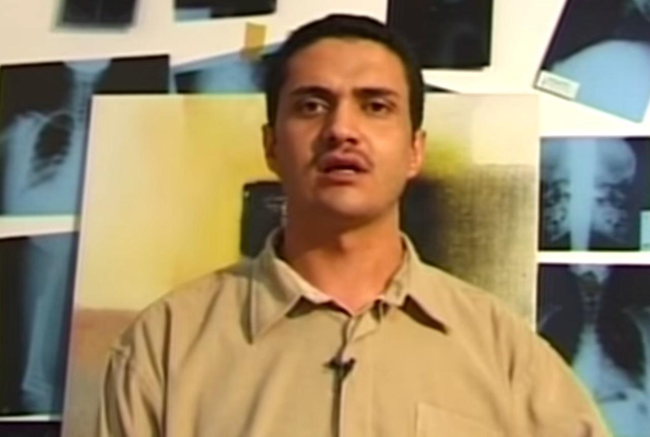Ashraf Fayadh (screenshot via YouTube)