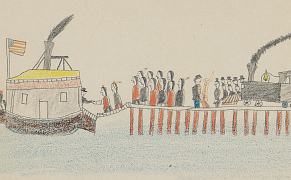 Post image for A 19th-Century Cheyenne Warrior's Drawings of His Life as a POW