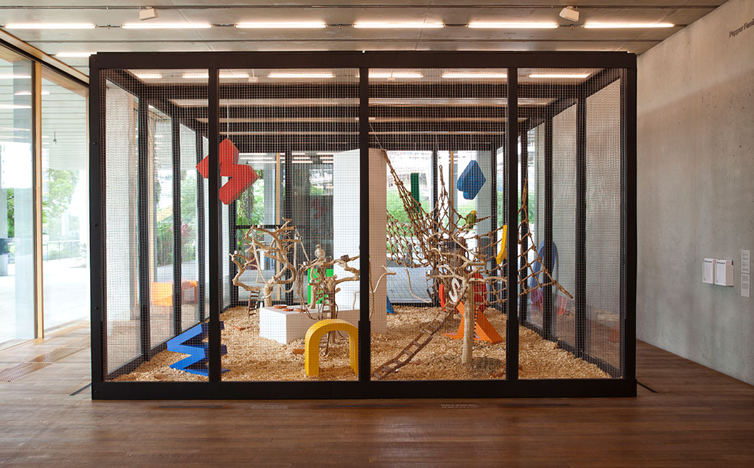 Bik Van der Pol, 'Speechless' (2015), installation view at the Pérez Art Museum Miami