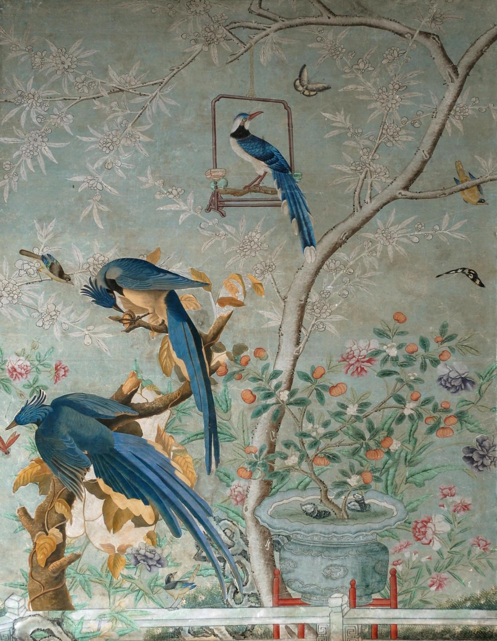 Chinese Drawing Room at Temple Newsam House (courtesy Leeds City Council)