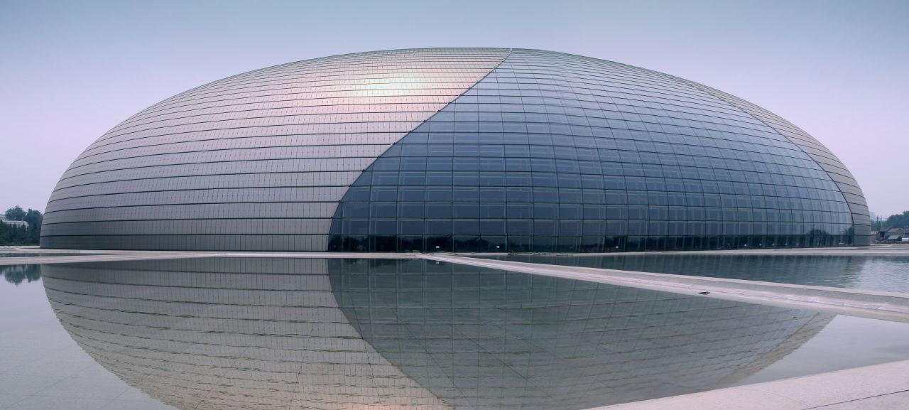 China's National Centre for the Performing Arts (image via Wikipedia)