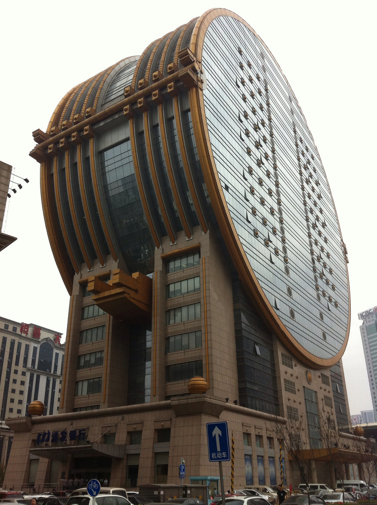 Fang Yuan building in Shenyang, China (photo by Christian Mange/Flickr, used under CC BY-ND 2.0 license) (click to enlarge)