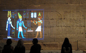 Post image for Light Projections Bring Color and Lost Glory to the Temple of Dendur