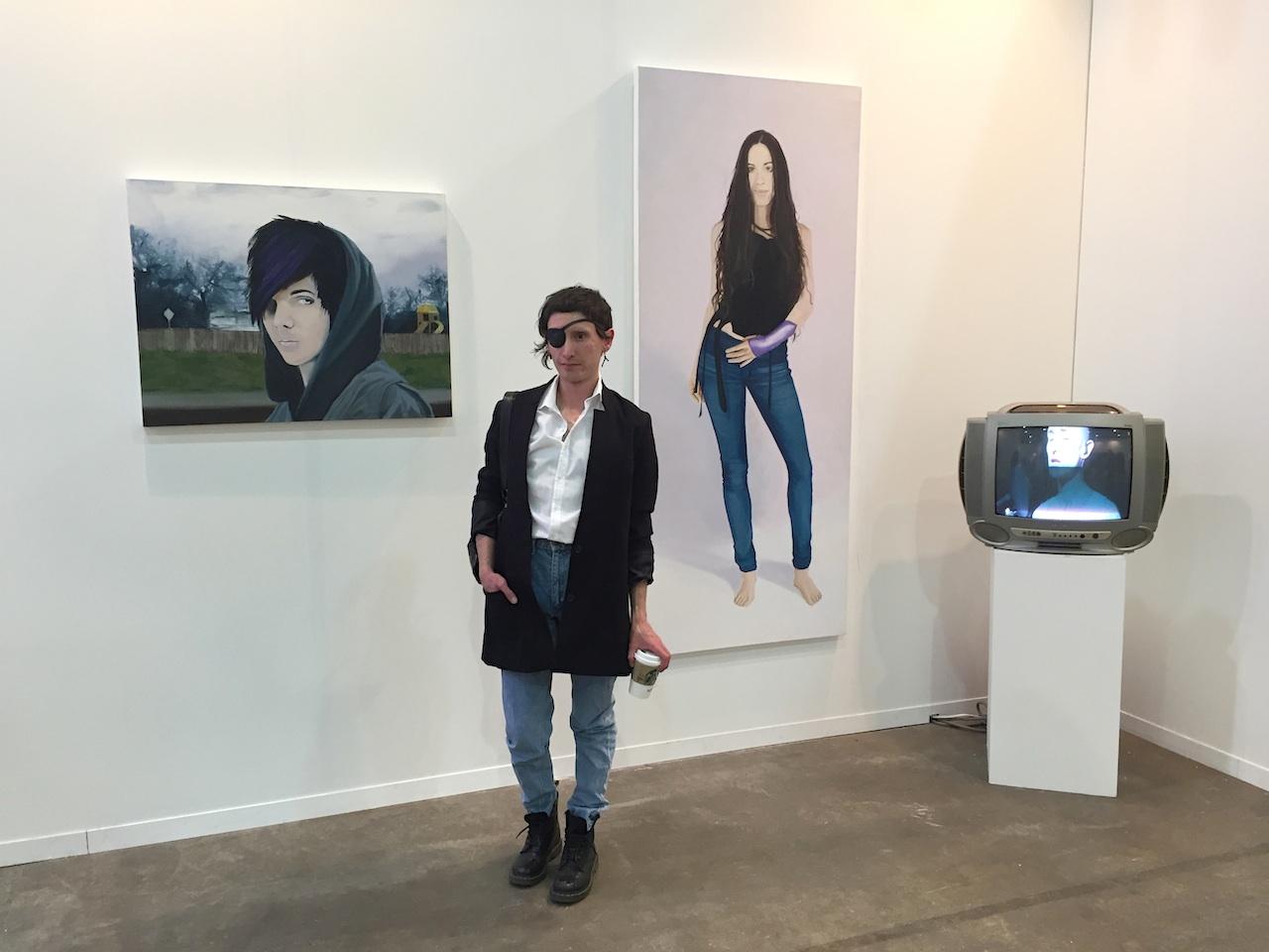 Manuel Solano at Karen Huber