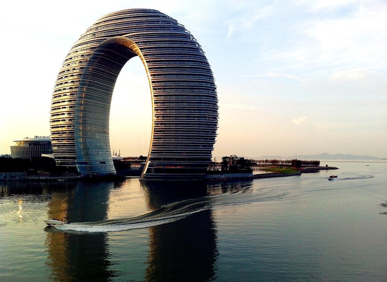 Sheraton Huzhou Hot Spring Resort (image via Wikipedia)