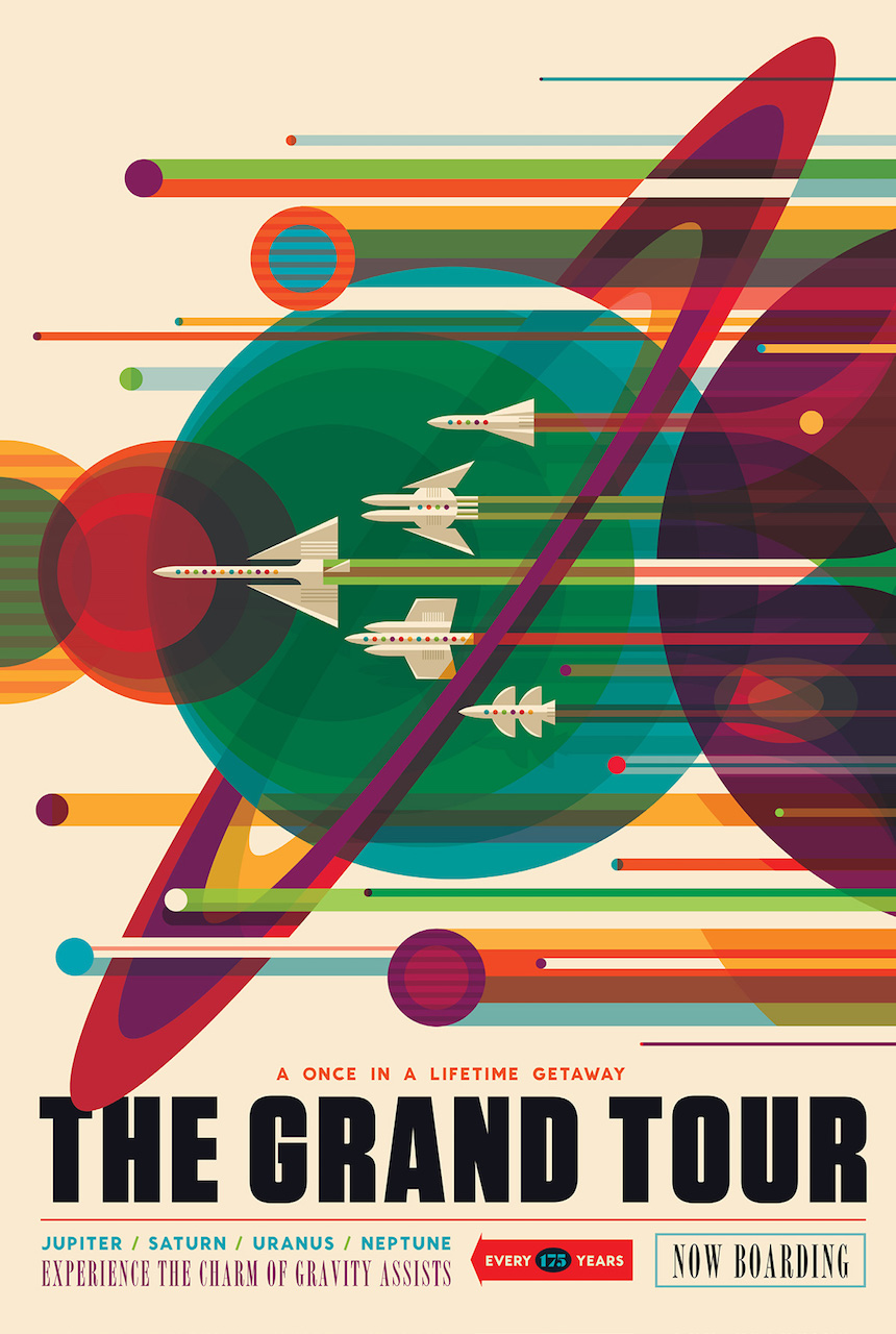 NASA Releases Retro Posters for the Future of Space ...