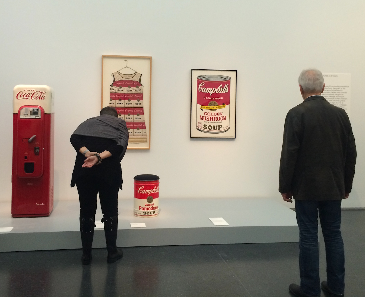 Installation view of 'Pop Art Design' at the Museum of Contemporary Art, Chicago (all photos by the author for Hyperallergic)