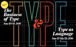 Post image for Apply Now for Summer Residencies at SVA: Typography as Language and The Business of Type