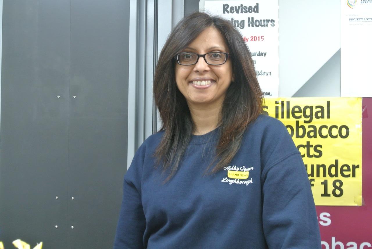 Ashby Square News shopkeeper Anita