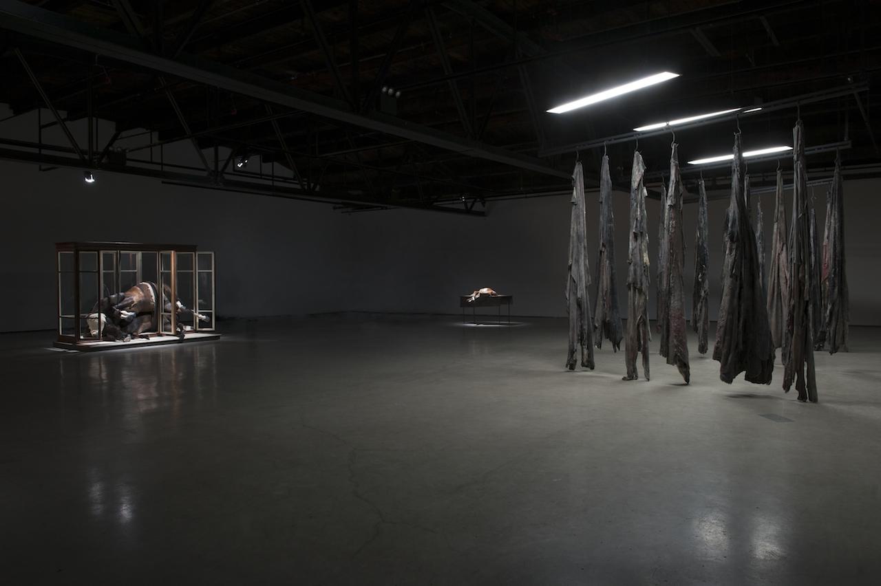 Installation view of 'Berlinde De Bruyckere. No Life Lost', Hauser & Wirth New York (© Berlinde De Bruyckere; courtesy the artist and Hauser & Wirth; photo by Mirjam Devriendt)