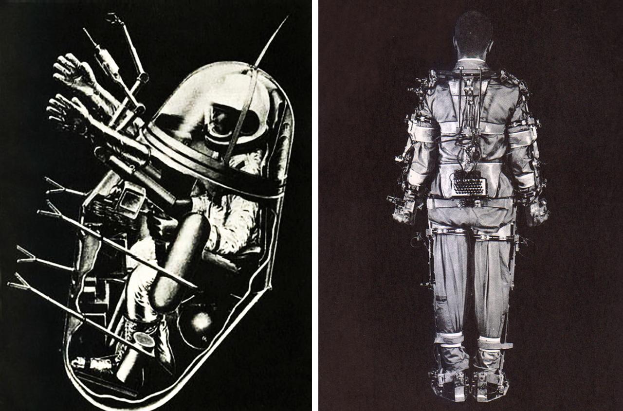 "John McHale, ""Man Plus Exoskeletal System"" (1972)"