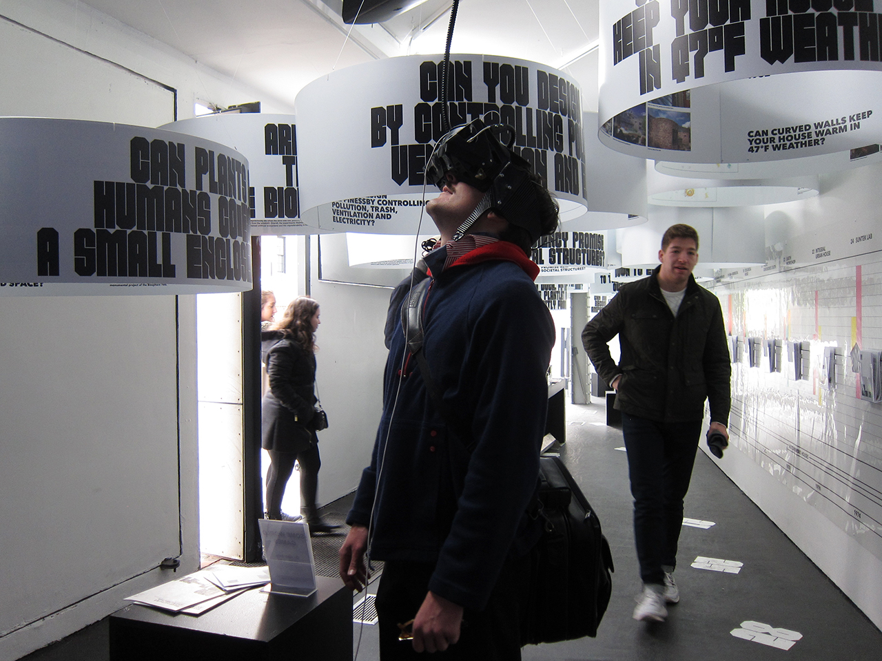 Installation view of 'Closed Worlds' at Storefront for Art and Architecture (photo by the author for Hyperallergic)