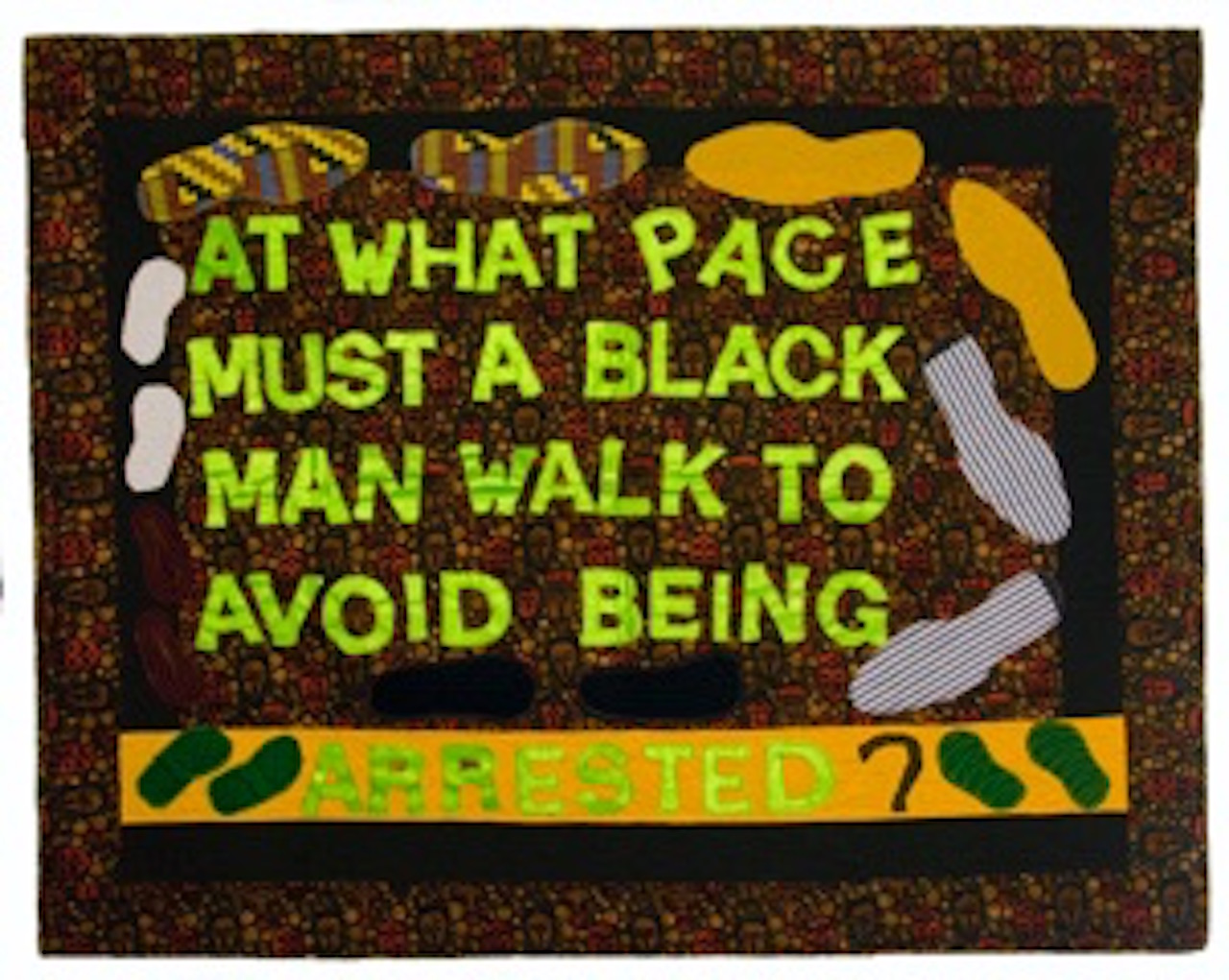 Clemons Dorsey_Jackie_Avoid being Arrested_42x53