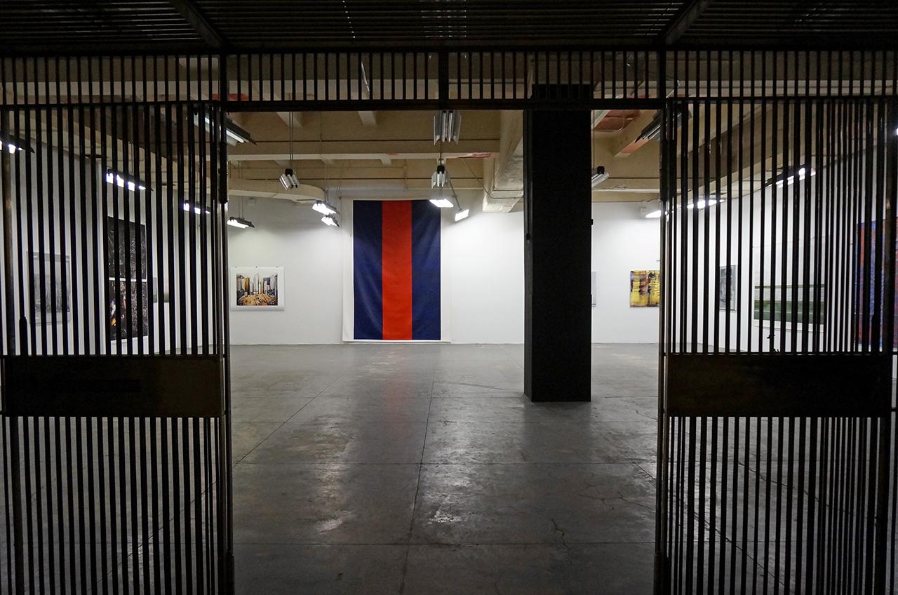 """Greg Allen's """"Chop Shop"""" in the vault (click to enlarge)"""