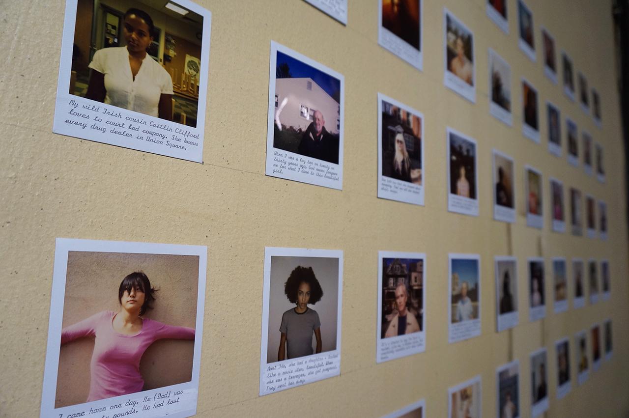 Brenden Carroll's Polaroids (click to enlarge)