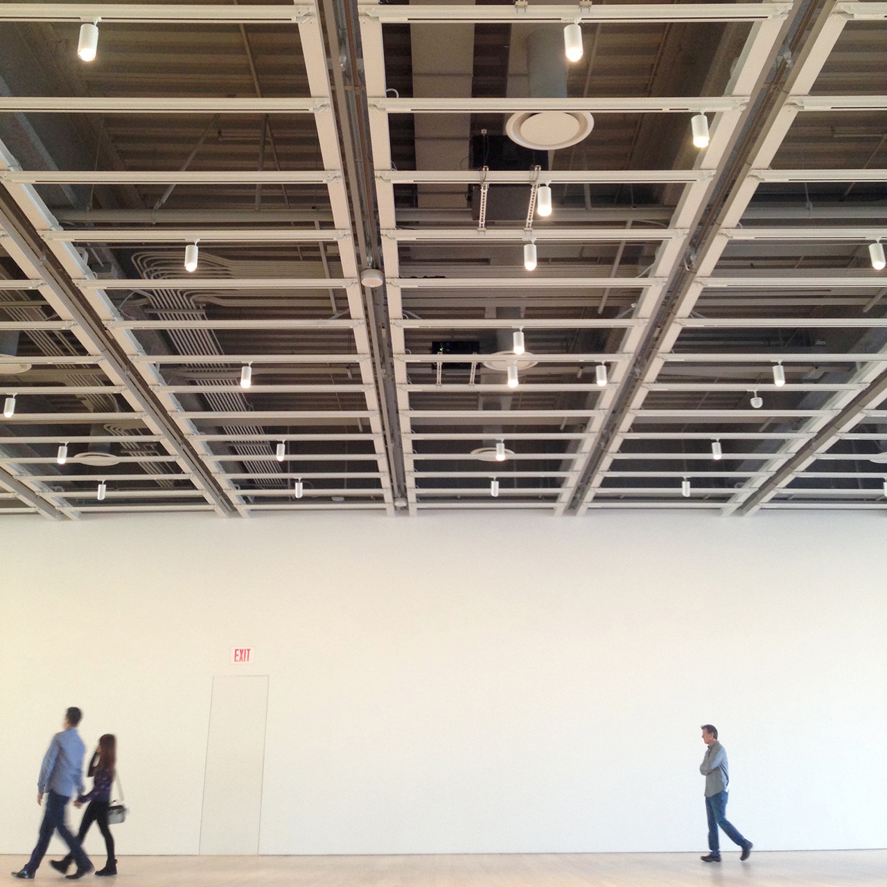 'Open Plan: Andrea Fraser' at the Whitney Museum of American Art (click to enlarge)